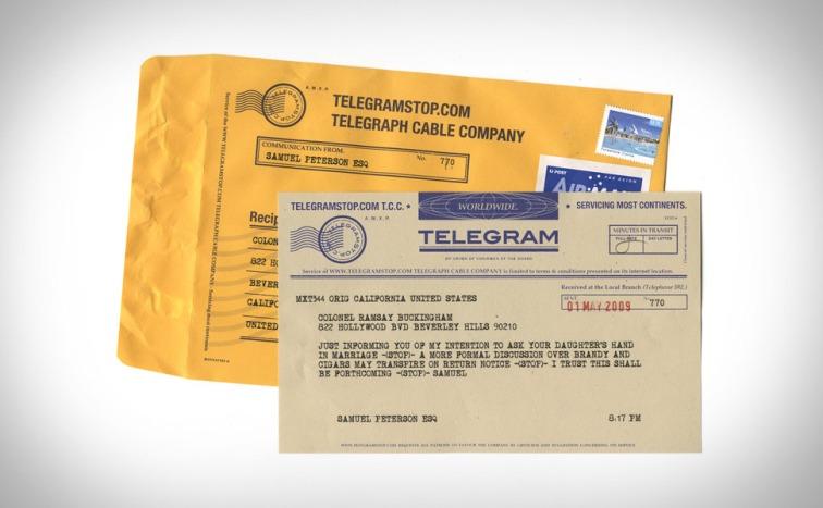 Telegram B