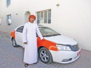 Omani taxi